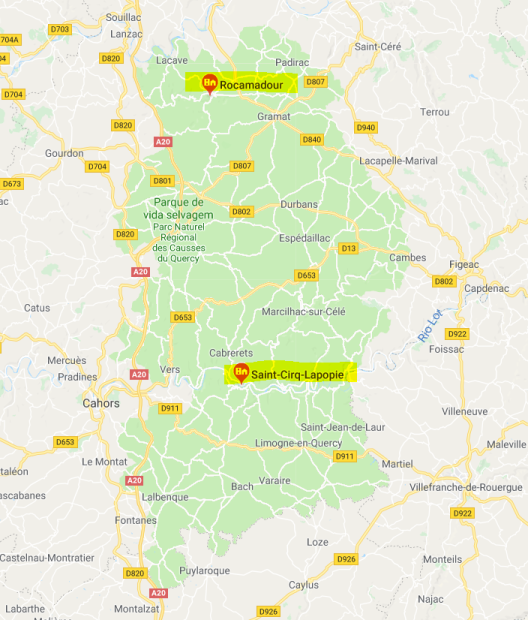 Capturar La popie e Rocamadour