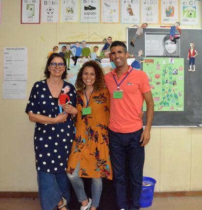 Com Isabel Leal, mentora do Projeto Livre Trânsito